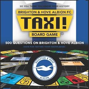 Brighton & Hove Albion FC game box lid