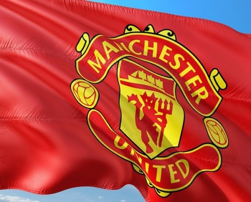 Manchester Utd FC flag