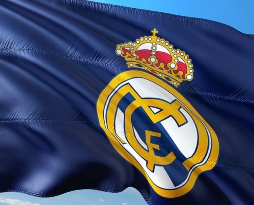 Real Madrid FC flag